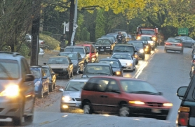 by: L.E. BASKOW, Commuters lining Northwest Cornell Road during rush hour make it difficult for residents to get out of their driveways. While the city and neighbors mull solutions, several readers weigh in on the issue.