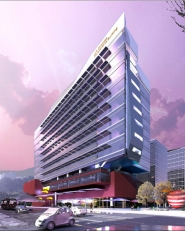 by: Courtesy of Perkins and Will, A rendering shows the life sciences building proposed for Portland's South Waterfront. Lobbyists are asking the Legislature for help in building the $100 million complex.