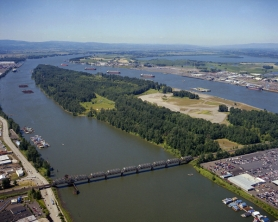 by: Courtesy of Port of Portland, An aerial shot of west Hayden Island, west of Jantzen Beach, shows land that the Port of Portland wants the city to annex so it might be available for future marine terminals. Letter writers weigh in on the idea.