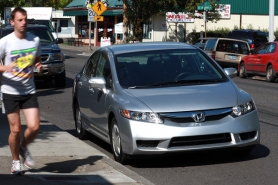 by: JAIME VALDEZ, The 2009 Honda Civic Hybrid: So good you forget it's a hybrid, except at the pump.