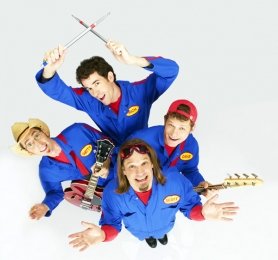 by: COURTESY OF Disney, The kid-pop quartet Imagination Movers makes its way Dec. 11 to the Rose Garden's Theater of the Clouds.