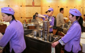 by: Tribune File Photo, Waitresses serve dim sum at Wong's King Seafood restaurant on Southeast 82nd Avenue. A My View writer believes the availability of affordable housing is drawing new families, first-time homeowners and immigrants to neighborhoods surrounding 82nd Avenue, making the area a vibrant place.