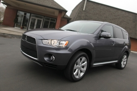 by: JAIME VALDEZ, The all-wheel-drive Outlander features tenacious grip and plenty of
