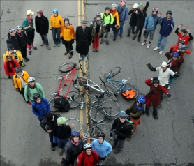 by: COURTESY OF Worst Day of the Year Ride,  Join 3,500 other riders for the Worst Day of the Year Ride on Feb. 14, an 18-mile odyssey around downtown Portland that has quickly become a quirky annual tradition.