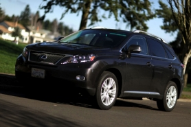 by: JAIME VALDEZ, High style and high mileage go together in the 2010 Lexus 450h.