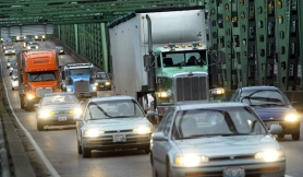 by: Tribune File Photo, Regional officials have still not agreed on the best way to reduce rush hour congestion on the Interstate 5 bridge.