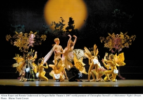 "by: COURTESY OF Blaine Truitt Covert, Oregon Ballet Theatre takes the edge off this winter's chill with a lighthearted retelling of ""A Midsummer Night's Dream,"" starting Feb. 27 at the Keller Auditorium."