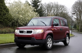 by: ANNI TRACY, The Honda Element can easily handle the elements, thanks to its easy-clean interior and available all-wheel-drive.