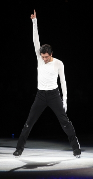 by: COURTESY OF STARS ON ICE, Olympic Gold Medalist Evan Lysacek is coming to the Rose Garden on May 30 for the grand finale of the 2010 Stars on Ice tour.
