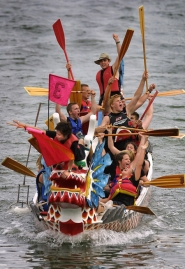 by: L.E. BASKOW, The Rose Festival's Dragon Boat Races will take place on June 12 and 13 at the south end of Waterfront Park.
