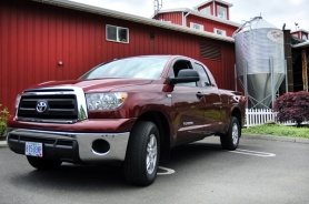 by: Jeff Basinger, For the Toyota Tundra, bigger is better, especially when competing in the full-size truck market,