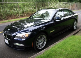 by: ANNI TRACY, Despite its size, the 2010 BMW 750i can be programmed to drive like a  
