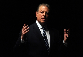 by: Frazer Harrison, Former Vice President Al Gore was in Portland to talk about global warming in October 2006, when a local massage therapist told police she had been assaulted while giving him a massage at his hotel room.