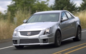 by: CHRISTOPHER ONSTOTT, Supercharged Corvette V8 and retuned suspension make the CTS-V a  