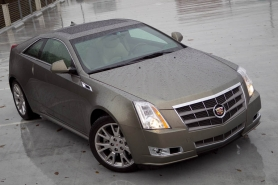 by: CHRISTOPHER ONSTOTT, Cadillac is continuing to push the styling and performance limits with its attracted, sophisticated 2011 CTS V6 coupe.