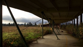 by: Christopher Onstott, All that remains of the former golf driving range along Northeast  