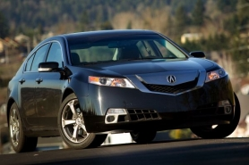 by: CHRISTOPHER ONSTOTT The aggressive styling of the 2011 Acura TL is more than matched by  