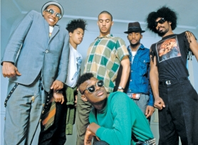 "by: COURTESY OF JOHN SCARPETI The Reel Music Film Festival will screen a new documentary ""Everyday Sunshine,"" which traces the band Fishbone's history, influence and struggle as distinctive, genre-blending artists in an unforgiving music industry."