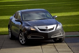 by: CHRISTOPHER ONSTOTT Love it or hate it, you can't miss the Acura ZDX. With 300 horsepower  