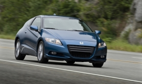 by:  Futuristic styling, zippy or economical driving modes and sporty handling makes the Honda CR-Z a unique hybrid.