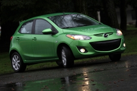 by: JAIME VALDEZ The cute, fun-to-drive Mazda 2 proves some compacts don't require