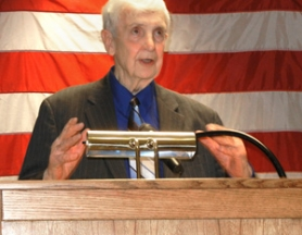 by: contributed photo by Roland Smith Former Troutdale Mayor Paul Thalhofer, a lifetime member of the Elks, was named Citizen of the Year by the Gresham Elks Lodge 1805.