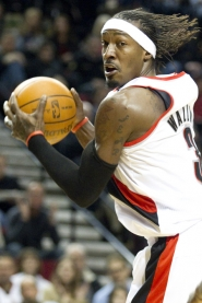 "by: Christopher Onstott Gerald Wallace, the Trail Blazers' newest key addition, says banging inside at 6-7 and 220 pounds takes a toll, but he enjoys fitting into the Portland system of ""demanding"" and ""passionate"" coach Natae McMillan."