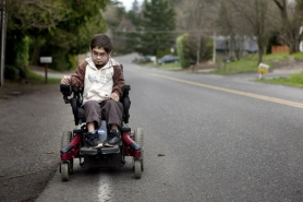 by: CHRISTOPHER ONSTOTT There is very little wheelchair access in Kenya, where 17-year-old Aamir Khandwalla is headed if immigration authorities have their say.