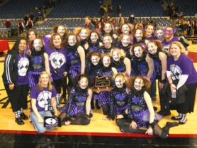 by: John Brewington THIRD IN STATE - The Scappoose High Vision dance team took third in the recent state competition.