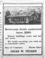 by: from The Outlook Archives This house was available for $2,300 in 1921.