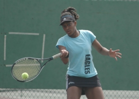 by: file photo Centennial sophomore Ify Aniefuna looks to make a return to the district singles title match this spring.
