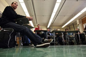 by: JAIME VALDEZ A recent survey showed that 80 percent of students at Lincoln High School admitted to cheating in class, which has become easier with the aid of the Internet and cell phones.