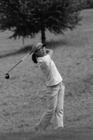 by:  VERN UYETAKE Connie Zhou figures to be one of the top golfers in the Three Rivers League this year.