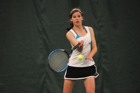 by: VERN UYETAKE Sophomore Brittany Dales is Lakeridge's No. 1 singles player this season and one of a handful of talented younger players for the Pacers.