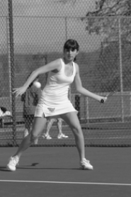 by:  VERN UYETAKE Defending district singles champion Amanda Wagner heads up a girls tennis team that should be as strong as it has been in years.