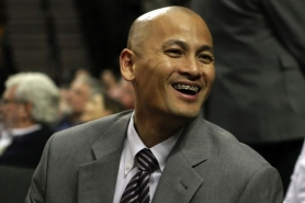 by: JAIME VALDEZ Trail Blazer General Manager Rich Cho is happy with the team's plus-.500 record against .500-or-better teams since the trade for Gerald Wallace.