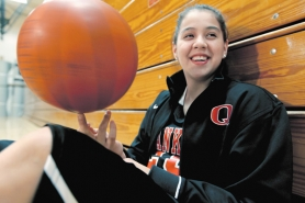 "by: COURTESY OF HOCK FILMS Former Franklin High basketball star Shoni Schimmel, now playing at Louisville, and her family were the focus of the documentary ""Off the Rez,"" which documents their life in Portland and their upbringing on the Umatilla Indian Reservation."