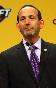 by: NED DISHMAN MLS Commissioner Don Garber