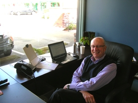 by: CLIFF NEWELL Jerry Wheeler will have a great, wide view of Lake Oswego in the new office of the Lake Oswego Chamber of Commerce on 459 Third St. The chamber is back in full swing, preparing for meetings and big events.