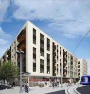 by: COURTESY OF PDC A rendering shows the affordable apartments planned for South Waterfront.