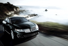 by: Courtesy of Ford Motor Company Distinctive grill and sweeping lines characterize the 2011 Lincoln MKS.