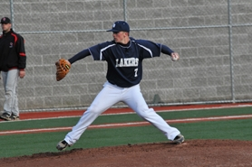by: VERN UYETAKE Lake Oswego's Brock Pellow threw a complete game on Monday to help the Lakers beat Oregon City 6-3.