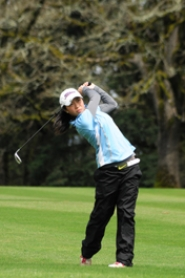 by: VERN UYETAKE Connie Zhou shot an 81 for the Pacers at Oregon Golf Club on Monday.