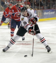 by: CHRISTOPHER Onstott Ryan Johansen, launching a shot in the playoff series with Spokane, will help lead the Portland Winterhawks' attack in the WHL finals versus Kootenay.
