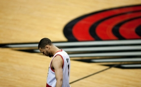by: Christopher Onstott The future is unclear for several Trail Blazers, including Brandon Roy, who showed his disappointment at losing Game 6 to the Dallas Mavericks.