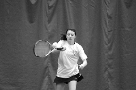 by: MATTHEW SHERMAN Lake Oswego's Erinna O'Brien captured the Three Rivers League singles championship, losing just three games in all of her matches.