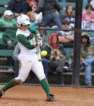 by: PORTLAND STATE UNIVERSITY PSU's Carly McEachran, a sophomore from Mill Creek, Wash., has been named co-MVP of the Pacific Coast Softball Conference Mountain Division. She hit a team-high .475 in league play, with team bests of four home runs, 19 RBIs and 20 runs in 20 games.