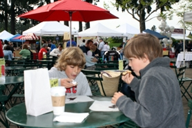 by: SUBMITTED PHOTO Foods of all configurations were available for people attending last Saturday's initial Lake Oswego Farmers' Market. Such fare will continue throughout the summer and fall as the market runs for its 11th season.