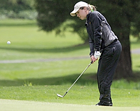 by: Miles Vance AT STATE — Jesuit's Casey Briggs led her team to second place at the Class 6A state tournament at Emerald Valley Golf Club on Tuesday.