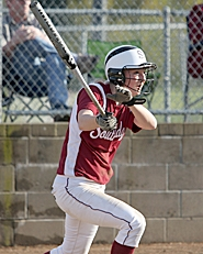 by: Miles Vance BAT GIRL — Southridge's Shae Nelson collects a hit during her team's win over Jesuit last week at Southridge High School.
